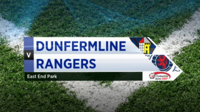Highlights - Dunfermline 1-4 Rangers