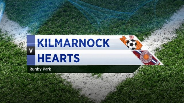 Highlights - Kilmarnock 1-1 Hearts