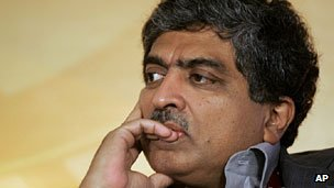 Nandan Nilekani, chairman of India's UID project.