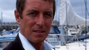 John Nettles as Jim Bergerac in Jersey
