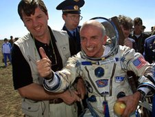 Dennis Tito, the first space tourist