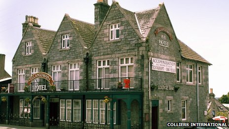 Ellangowan Hotel. Pic: Colliers International