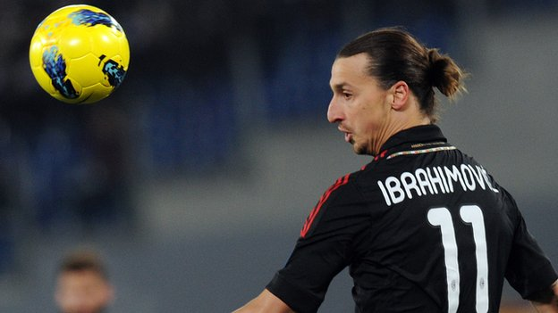 Ibrahimovic has represented Ajax, Juventus, Barcelona and Inter but is