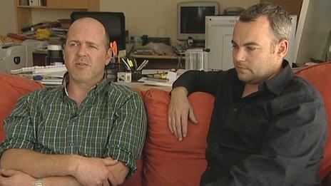 Phil and Gary Johnson
