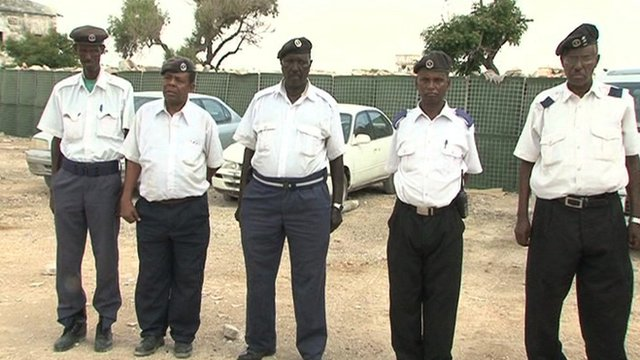 Somalia traffic police