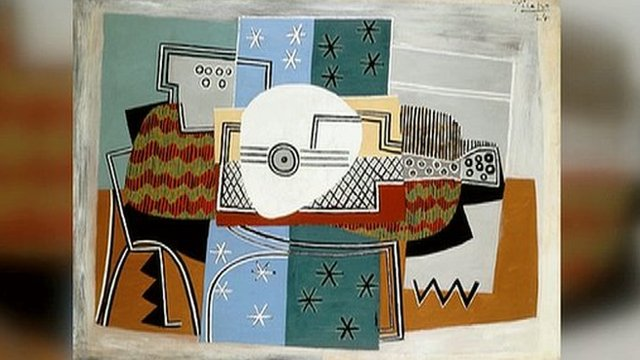 Artwork from Tate Britain's Picasso and Modern British Art