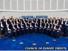 Judges from 47 ECHR nations
