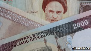 Iranian money