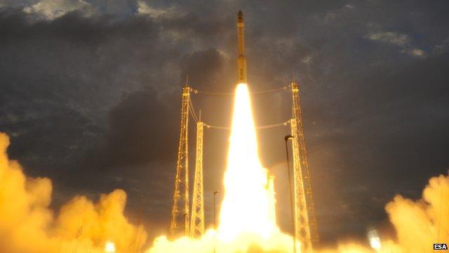 Vega rocket
