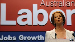 Julia Gillard became Australia's first woman Prime Minister after ousting Kevin Rudd in June 2010