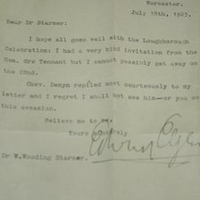 Elgar letter