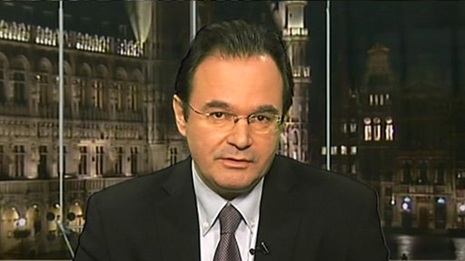 Greek environment minister Giorgios Papaconstantinou