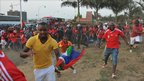 Equatorial Guinea football fans