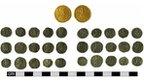 Roman coins found near Mildenhall