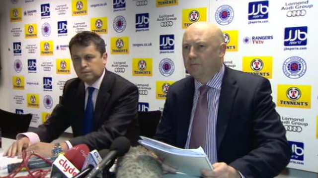 David Whitehouse and Paul Clark, administrators of Rangers Football Club