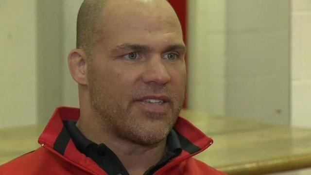 Wrestler Kurt Angle
