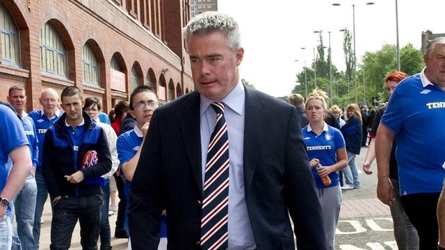 Former Rangers director Paul Murray