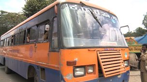 An Indian bus
