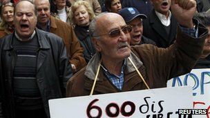 Austerity measures in Greece have sparked regular protests