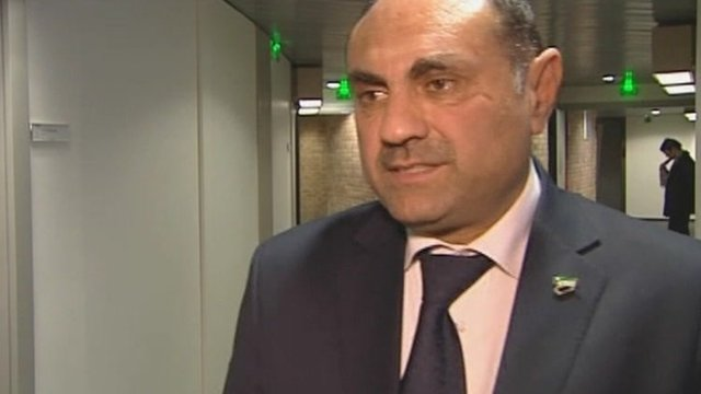 Fawaz Tello, Syrian National Council
