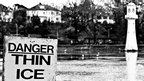 Thin ice signs