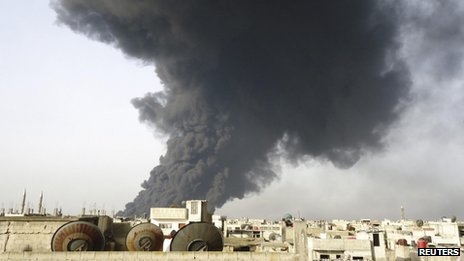 The pipeline has been targeted several times during the uprising in Syria