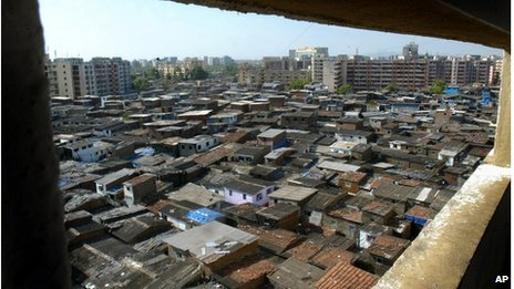 File picture of Mumbai slum