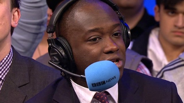 Tory MP Sam Gyemah is challenged to try and live on unemployment benefit for one week.