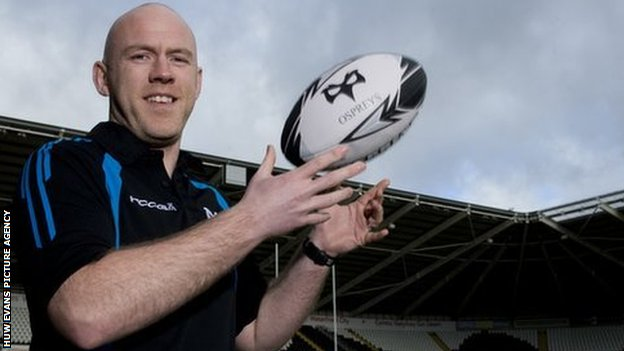 New Ospreys head coach Steve Tandy