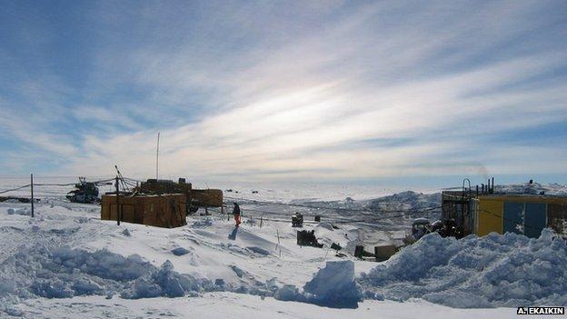New Frontier Of Antarctic Lake Exploration Bbc News