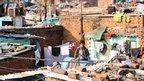 Okla slum, Delhi, India