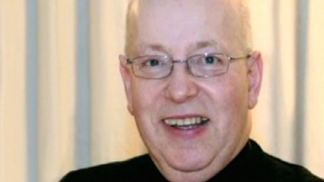 Reverend John Suddards was found by workmen at the vicarage in Thornbury