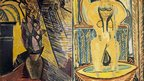 Vase of Flowers by Pablo Picasso and The Tub by Duncan Grant