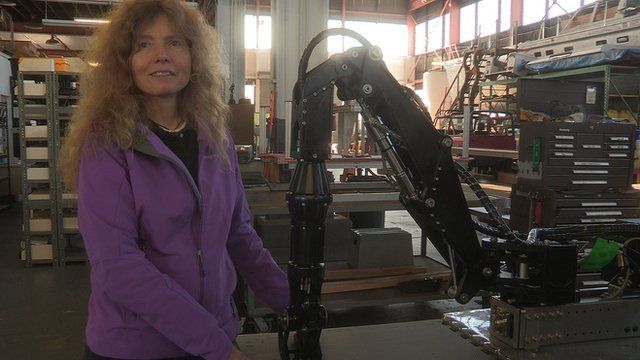 Liz Taylor, from DOER Marine, explains why robotic arms are essential for their Deep Search submarine.