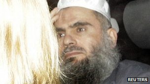 Abu Qatada leaving prison on Monday