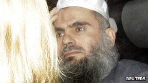 Abu Qatada leaving prison on Monday