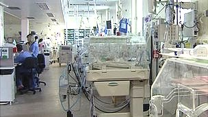 The neonatal unit at the Royal under went a deep clean