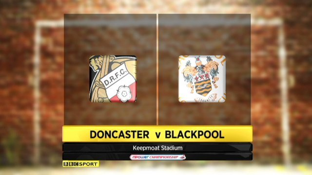Doncaster 1-3 Blackpool