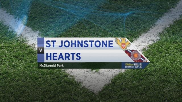 Scottish Cup - St Johnstone 1-2  Hearts