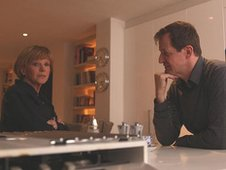 Anne Robinson and Alastair Campbell