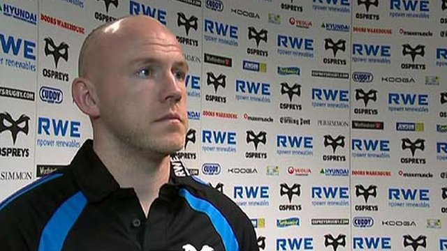 New Ospreys coach Steve Tandy