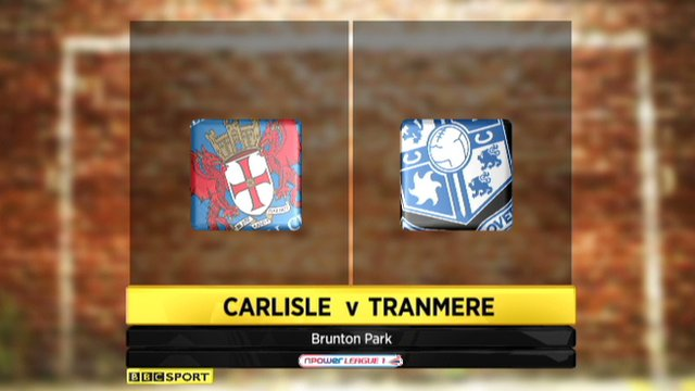 Carlisle 0-0 Tranmere