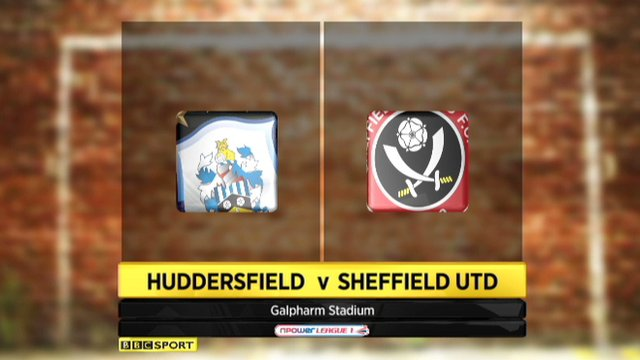 Huddersfield 0-1 Sheff Utd