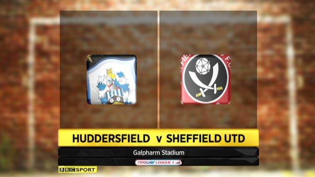 Huddersfield 0-1 Sheff Utd