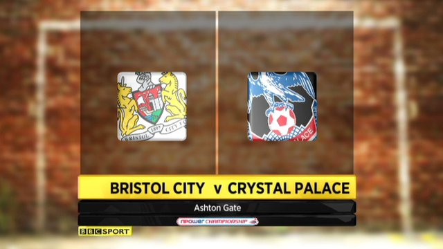 Bristol City 2-2 Crystal Palace