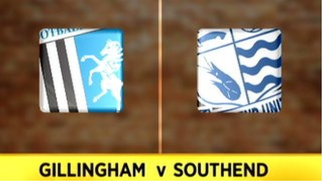 Highlights: Gillingham 1-2 Southend