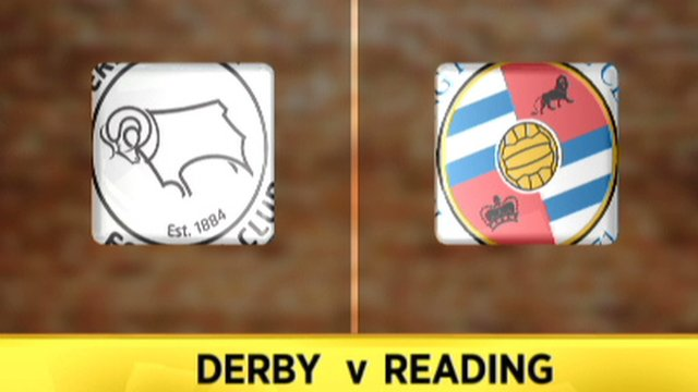 Highlights: Derby 0-1 Reading