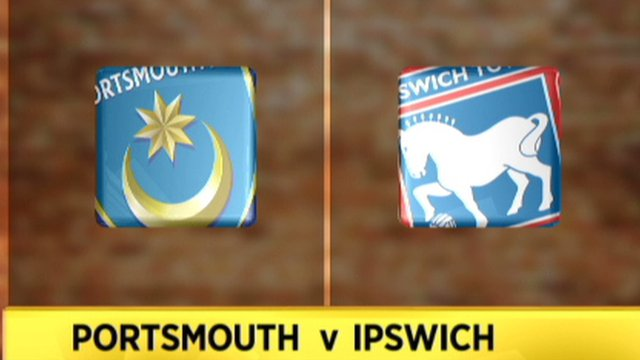 Highlights: Portsmouth 0-1 Ipswich