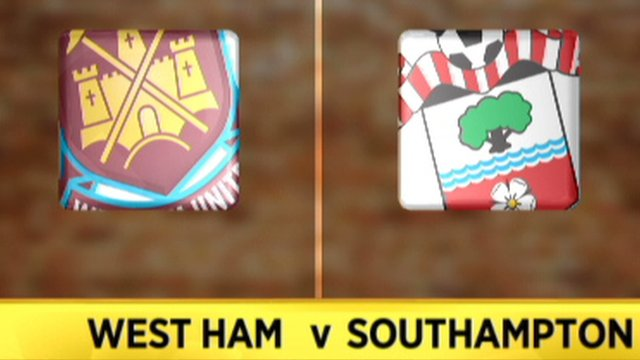 Highlights: West Ham 1-1 Southampton