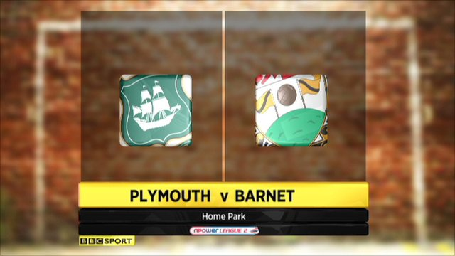 Plymouth 0-0 Barnet